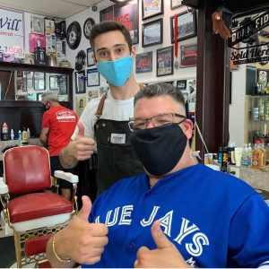 Barber Kyle - Flat Top and Fade - Barber Will Barbershop - 595 Carlton St - St Catharines - 289 362 1000