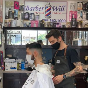 Barber Kyle - Men's Haircut - Barber Will Barbershop - 595 Carlton St - St Catharines - 289 362 1000