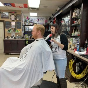 Barber Shawna - Men's Shave and a Haircut - Beard Trim - Barber Will Barbershop - 595 Carlton St - St Catharines - 289 362 1000