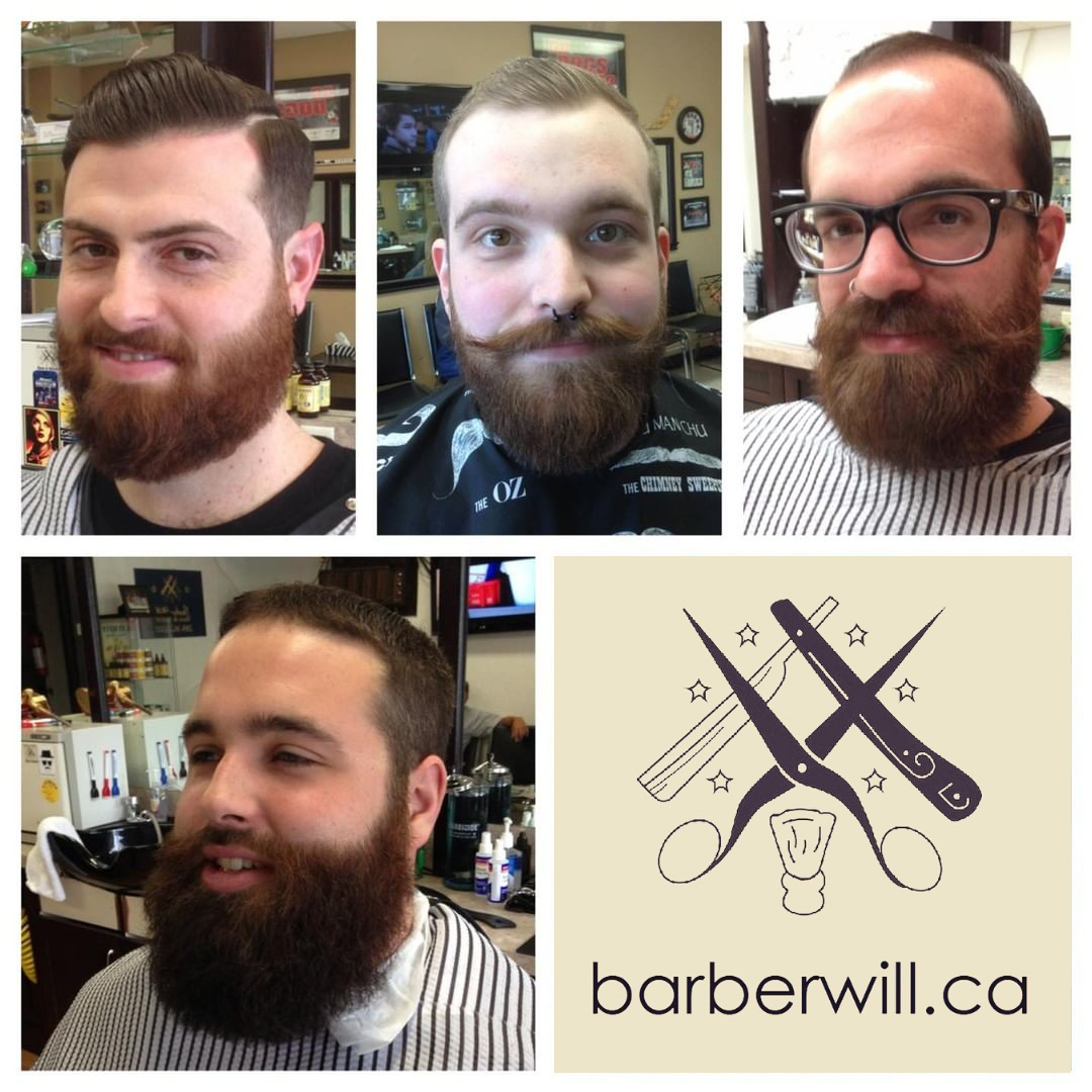 Barber Will - Beard Trims - Barber Will Barbershop - BarberShop - 595 Carlton St - St Catharines - 289 362 1000