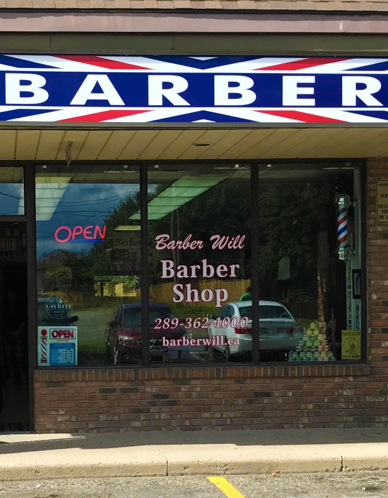 Barber Will Barber Shop - Open